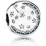 PANDORA潘多拉闪烁的夜晚固定扣串珠 791386CZ (丹麦品牌)