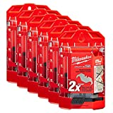 Milwaukee 48-22-1952 50 PC Hook Utility Knife Blades w/ Dispenser 6 Pack