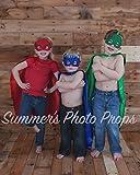 Ricud Kids Masks Costumes 5 Capes and Masks for Catboy Owlette Gekko Romeo Luna Girl