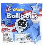 Pioneer Balloon Company 10 Count University of North Carolina Latex Balloon, 11'', Multicolor