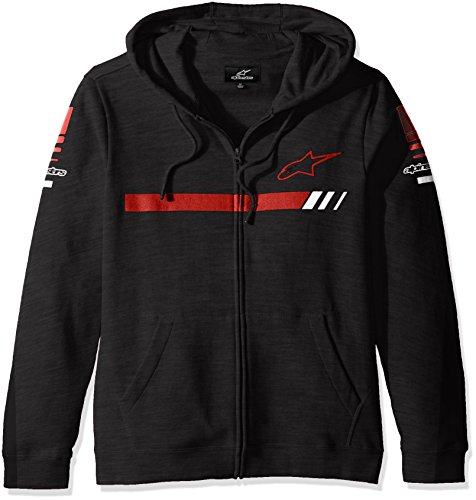 ALPINESTARS Mens Zip Fleece Sweatshirt