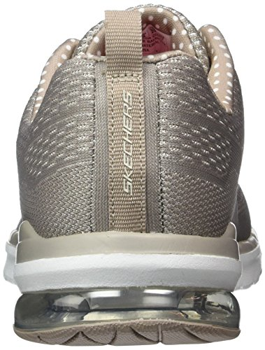 Skechers Sport Damen Air Infinity Fashion Sneaker Taupe