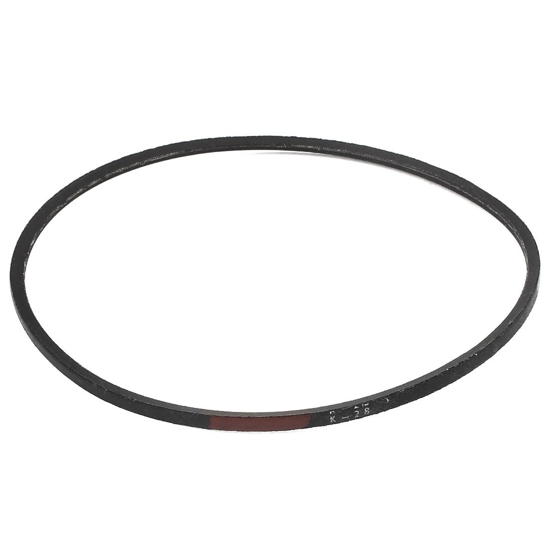 sourcingmap Machinery Drive Band Rubber K Type K28 V Belt sourcing map