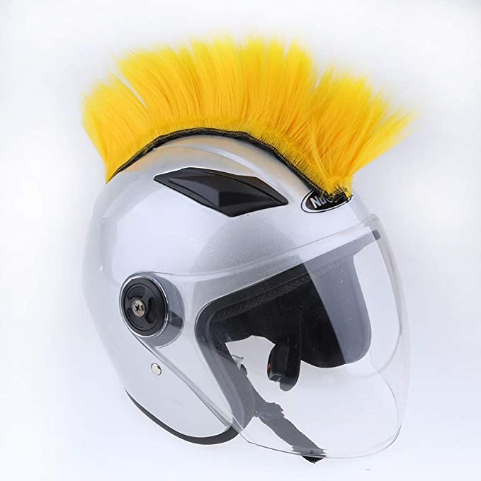 Amazon.com: Baosity DIY Casco Mohawk Pelo Punk para ...