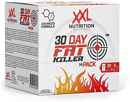 XXL Nutrition 30 Day Fat Killer Pack | Geeignet für Reduktionsphasen