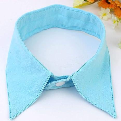 MZLongt camisa falsa cuello corbatas vintage desmontable collar ...