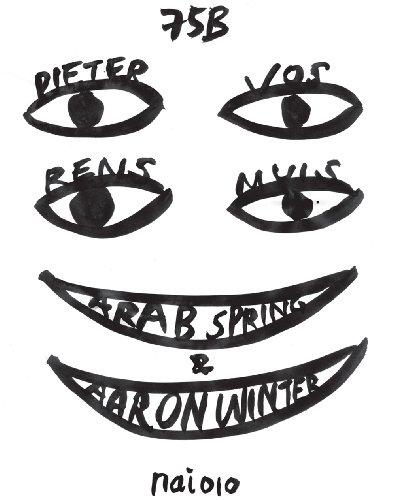 The Work of 75B: Arab Spring and Aaron - Mui Logo Mui