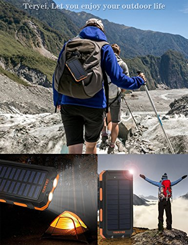 Solar-Charger-15000mAhTeryei-Portable-Solar-Power-Bank-High-Efficiency-Solar-Phone-Charger-with-Solar-Panel-Dual-USB-Cell-Phone-Battery-Charger-for-iPhoneSamsung-and-Emergency-Outdoor