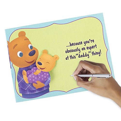 Hallmark Father's Day Greeting Card for Daddy (First Father's Day Cute Bears) Photo #5