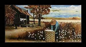 African American Black Cotton Harvest Copenhagen Wall Picture 8x10 Art Print