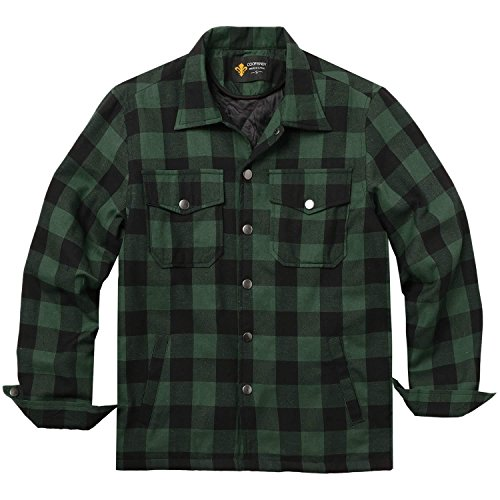 Plaid Flannel Jacket - 8