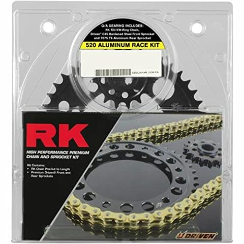 RK Quick Acceleration Chain Kit with Steel Sprocket - Natural 4067069P - Steel Sprocket Kit