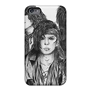 Protective Cell-phone Hard Cover For Iphone 6 With Customized Trendy Black Veil Brides Band BVB Series TammyCullen