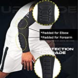 HOPEFORTH 2PCS Padded Elbow Forearm Sleeves