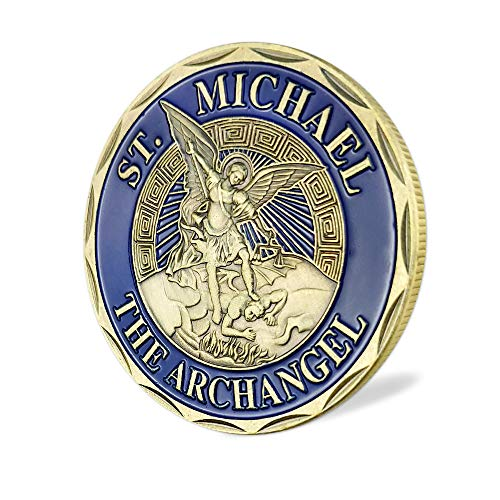 Air Force Challenge Coin USAF St Michael Core Values (Marine Corps Commemorative Medal)