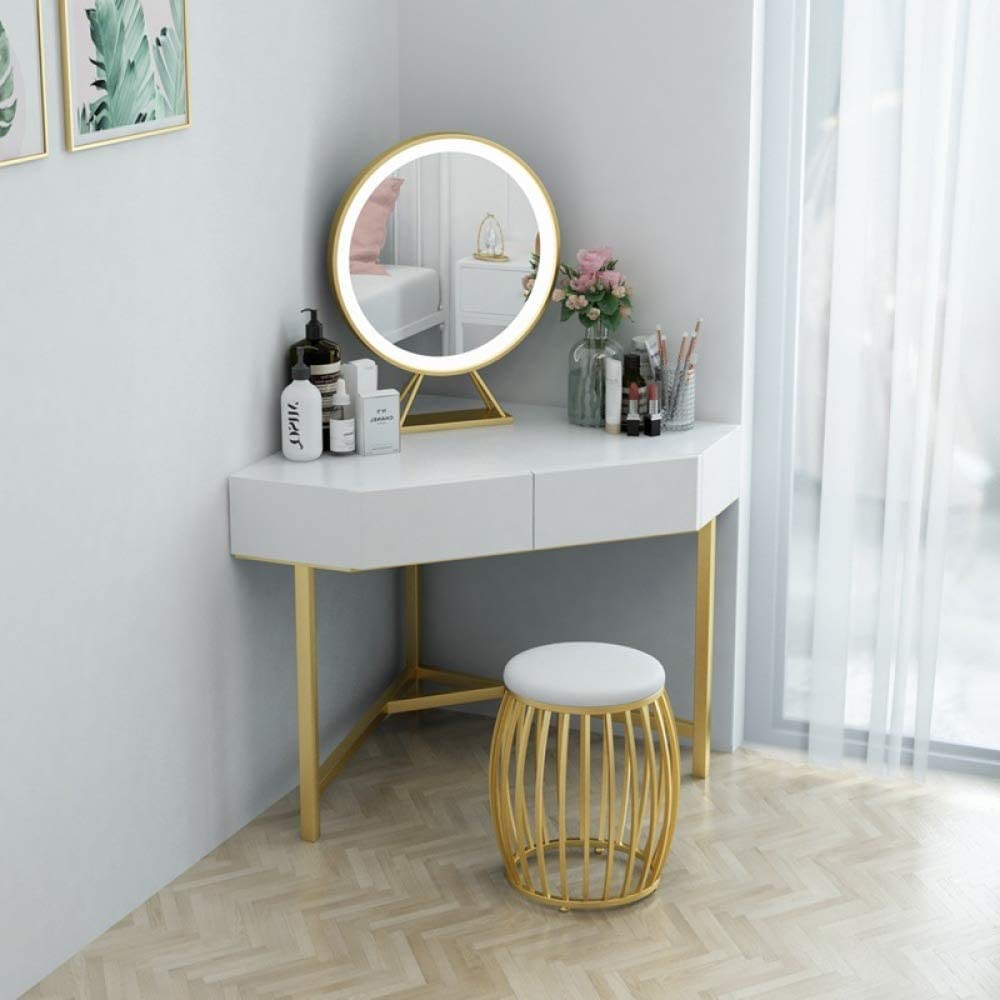 lvfang Triangle Dressing Table Corner Bedroom Dressing Table Small