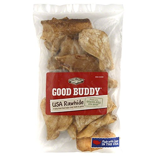 - 4 OZ, Beef & Basted in a Natural Chicken Flavor Rawhide Chips