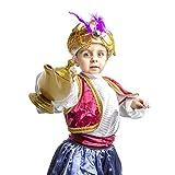 Skeleteen Arabian Genie Oil Lamp - Aladdin's Gold Magic Genie Lamp Costume Accessory - 1 Piece