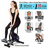 U.S. Jaclean Rodeo Core Exerciser Abs Back Glutes Legs work out