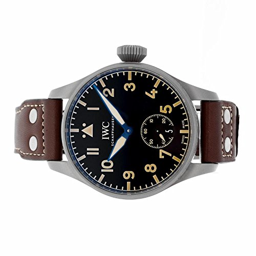 IWC-Pilot-mechanical-hand-wind-mens-Watch-IW510301-Certified-Pre-owned