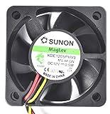 Swellder Sunon 50 mm Ultra Quiet Cooling Fan - 12 V - 10 CFM - 22 dB - KDE1205PHV3 - 3pins Tach Output