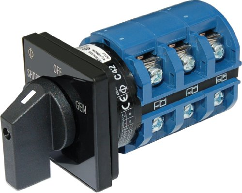 - AC Rotary Switch - OFF + 2 Positions 240V AC 65A