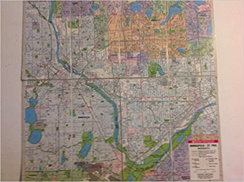 Buy Minneapolis/St. Paul (City Maps-USA) Book Online at Low Prices ...