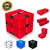 Ganowo Infinity Cube Fidget Cube Toy for Adults & Kids Relieve Stress & Anxiety Cool Hand Fidget Stress Toy Magic Flip Rubiks Cube for ADD,ADHD,OCD,Anxiety Disorder,Autism
