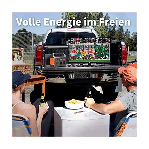 51s65ypXj7L Jackery Tragbare Powerstation Explorer 1000 - 1002 Wh AKKU Solar Generator & Mobiler Stromspeicher mit 230V Steckdose…