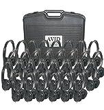Avid Education 8EDU-30CPFV-060 Headphones - Classroom Pack, Black