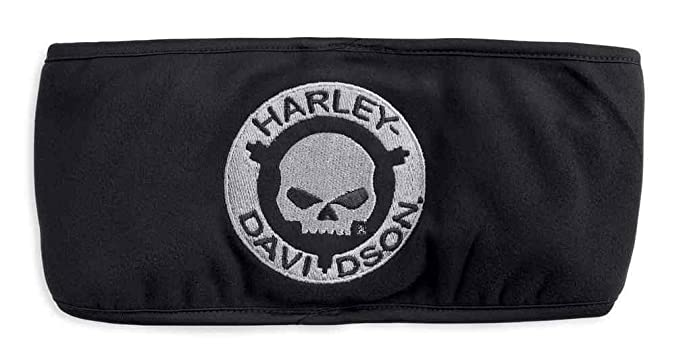 2f9378642a8 Image Unavailable. Image not available for. Color  Harley-Davidson Men s  Embroidered Willie G Skull Earwarmer