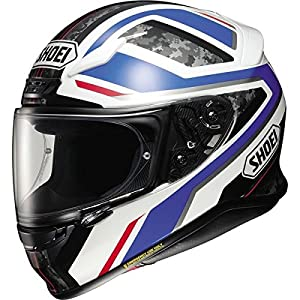 Shoei RF-1200 Parameter Blue/White Full Face Helmet, L 51s674DMCnL