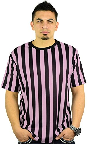 [Mens Crew Neck Ref Shirt Bar Referee Waitstaff T-Shirt] (Arab Money Costume)