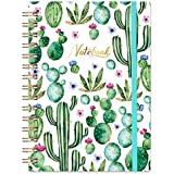 """Ruled Notebook/Journal - Lined Journal, 6.3"""" X 8.35"""", Hardcover, Back Pocket, Strong Twin-Wire Binding with Premium Paper, College Ruled Spiral Notebook/Journal, Perfect for School, Office & Home"""