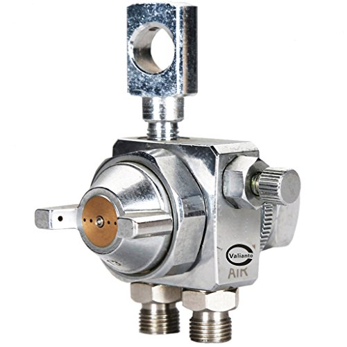 Valianto WA-C1 Pressure Feed Automatic Spray Gun Silver Nozzle Size 1.0mm