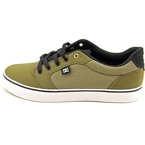 Anvil Black TX Skate Olive DC Men's Shoe 4Pwn6HP5Rq