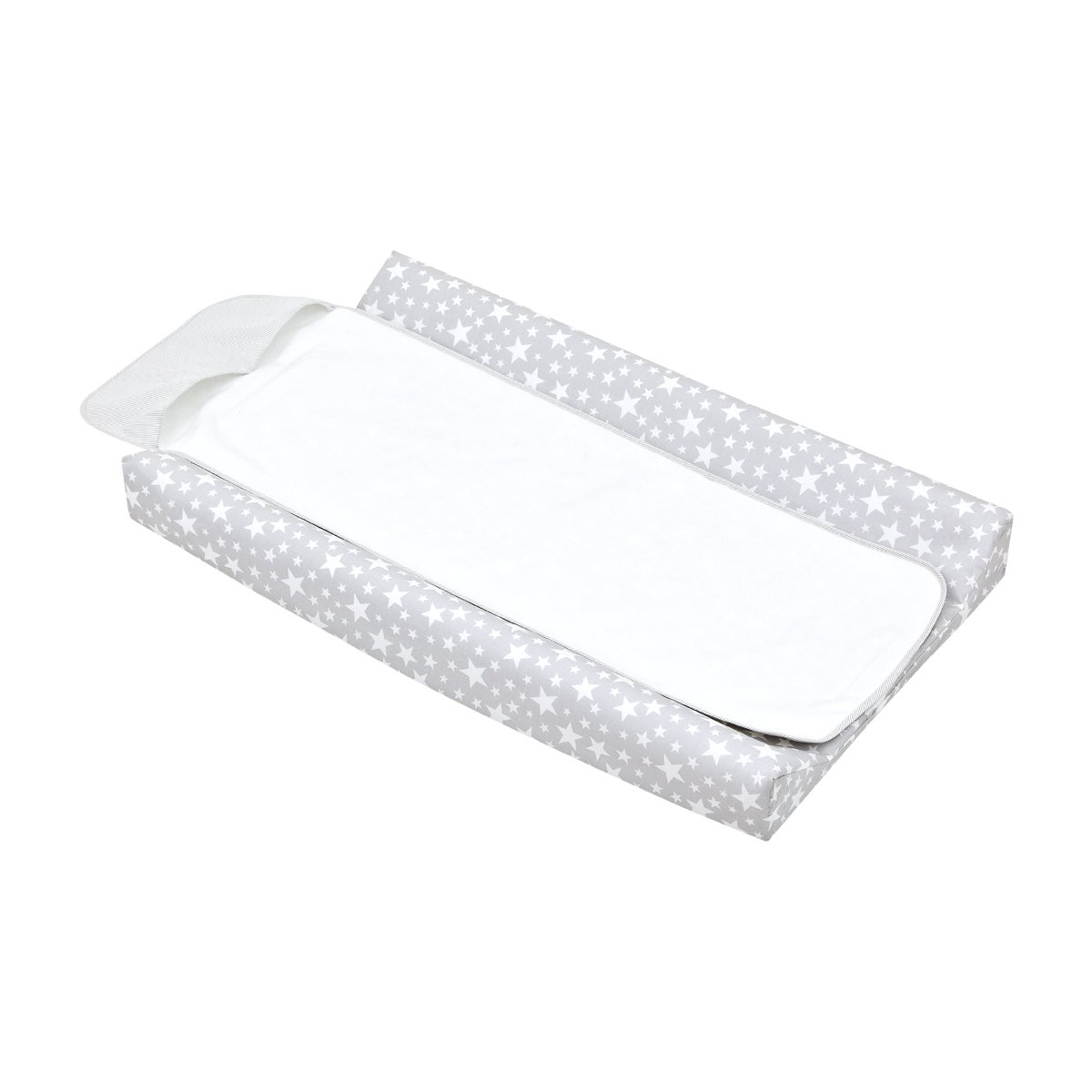 Cambrass Nappy Changing Mat (47 x 80 cm, Star Grey) 35082.0