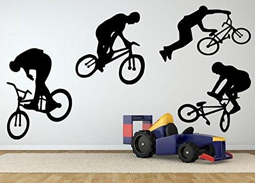Cheap  Wall Room Decor Art Vinyl Sticker Mural Decal Bmx Bike Bicycle Big..