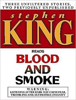 Amazon Fr Blood And Smoke Stephen King Livres