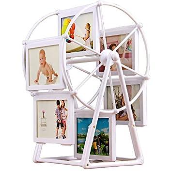 Amazon.com: Marco EGALIVO para fotos de bebé, marco de fotos ...