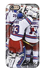 6 Scratch-proof Protection Case Cover For Iphone/ Hot New York Rangers Hockey Nhl (49) Phone Case