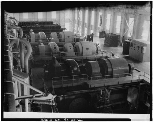 Photo: Crosscut Steam Plant,Tempe,Maricopa County,Arizona,AZ,HABS,Mill - Az Tempe Mills