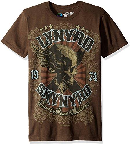 Liquid Blue Mens Lynyrd Skynyrd Sweet Home Alabama Short Sleeve T-Shirt
