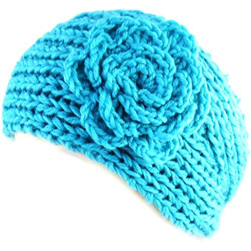 Les Trésors De Lily [L7535] - Bandeau Cache oreilles 'Clothilde' turquoise