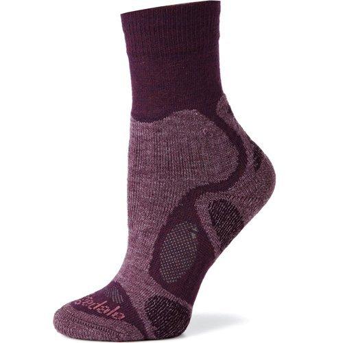 Bridgedale Women's Trailblaze Socks, Plum, Medium
