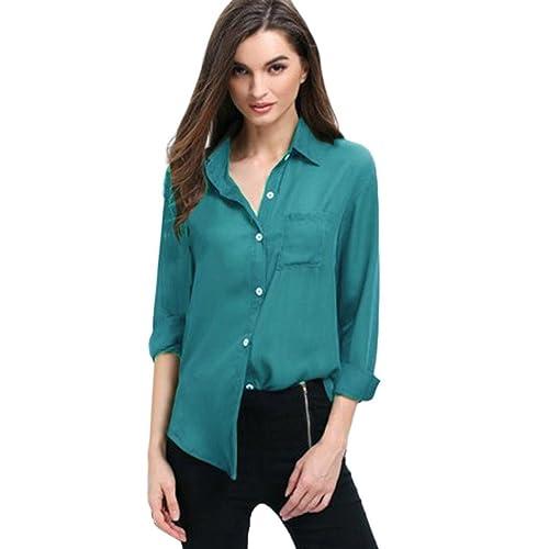 Lenfesh color sólido V Cuello camiseta de manga Larga blusas mujer otoño moda mujer Fruncido Y Plisado