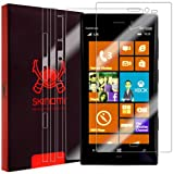 Skinomi TechSkin - Nokia Lumia 928 Screen Protector + Full Body Skin Protector with Lifetime Replacement Warranty / Front & Back Premium HD Clear Film / Ultra High Definition Invisible and Anti-Bubble Crystal Shield - Retail Packaging