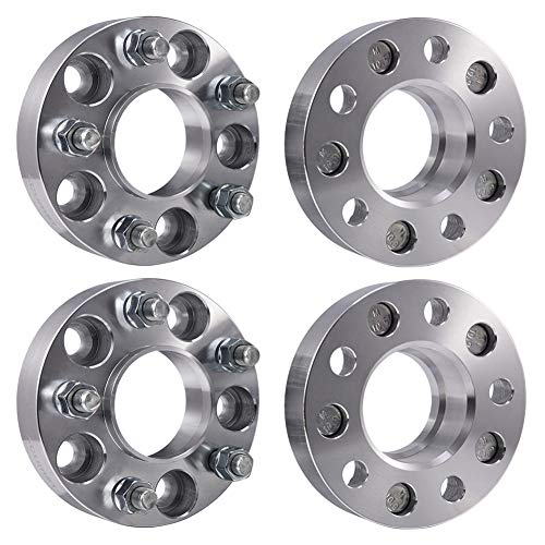 ACUMSTE 4Pcs Wheel Spacers Adapters, 1.25