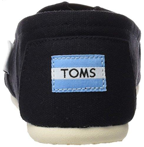 Toms Donna Classica Tela Nera 001001b07-blk Donna 8.5