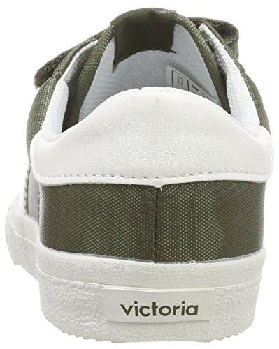 Victoria kaki Mixte Nylon Velcros Deportivo Vert Baskets Adulte 0BHr04Zqw